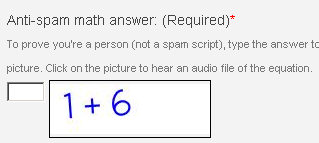 Screenshot of the math anti-spam image