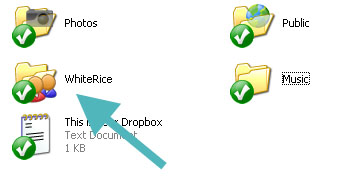 Shared folder icon in Windows XP