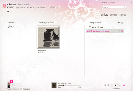 Zune software isn't all that bad