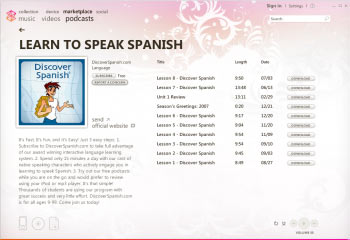 Spanish podcast lessons