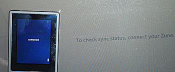Zune not connected?