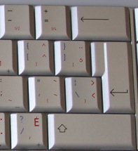 Bilingual Enter key