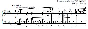 Chopin Raindrop Prelude