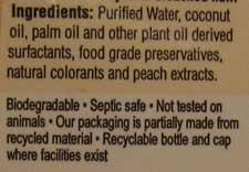 Echoclean shampoo ingredients