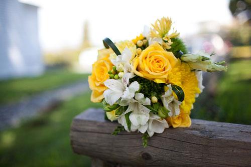 Queensberry Flower Company bride bouquet
