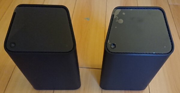 Freedom Mobile Home Internet and Shaw Internet modems side-by-side